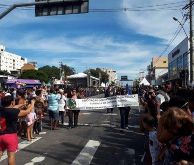 ADESG Espírito Santo no desfile dos 483º aniversário de fundação de Vila Velha