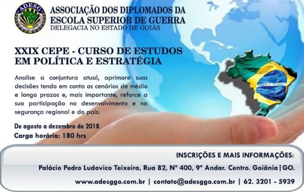 XXIX CEPE da ADESG – Delegacia no Estado de Goiás