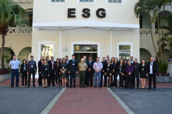 ESG Recebe Visita do CEPE da ADESG/PR