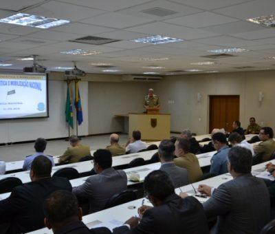 Início do Curso de Logística e Mobilização Nacional 2018