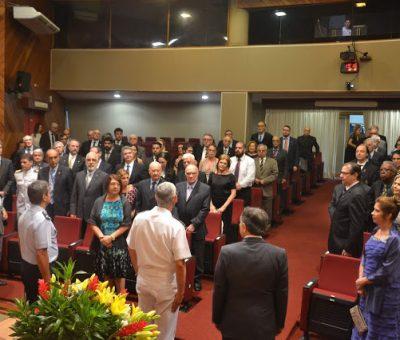 CERIMÔNIA DE POSSE DA NOVA DIRETORIA DA ADESG NACIONAL PARA O BIÊNIO 2020 / 2021