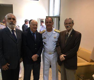 ADESG Administração Nacional presente na Palestra do Comandante da Marinha do Brasil