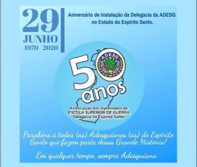 ANIVERSÁRIO DE INSTALAÇÃO DA ADESG ESPÍRITO SANTO