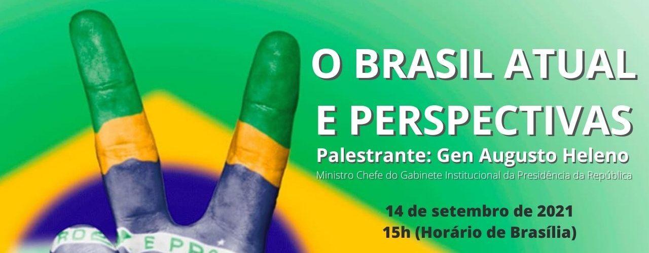 Palestra com Gen Ex Augusto Heleno – O Brasil atual e perspectivas